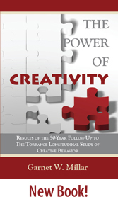 The Power of Creativity by Garnet Millar